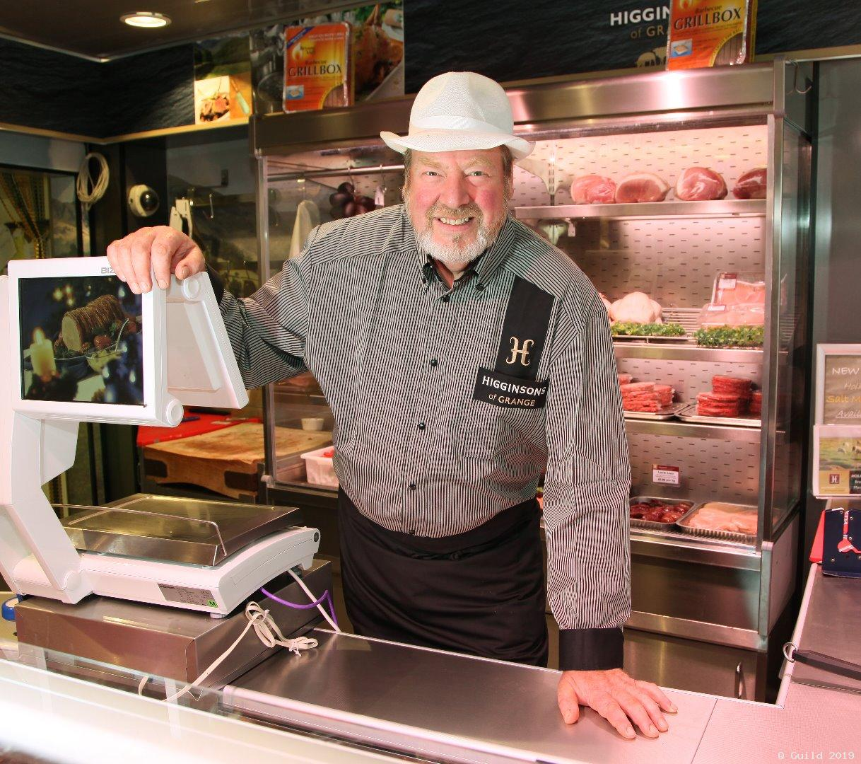 Higginsons to raffle meat hamper for charity during National Butchers Week