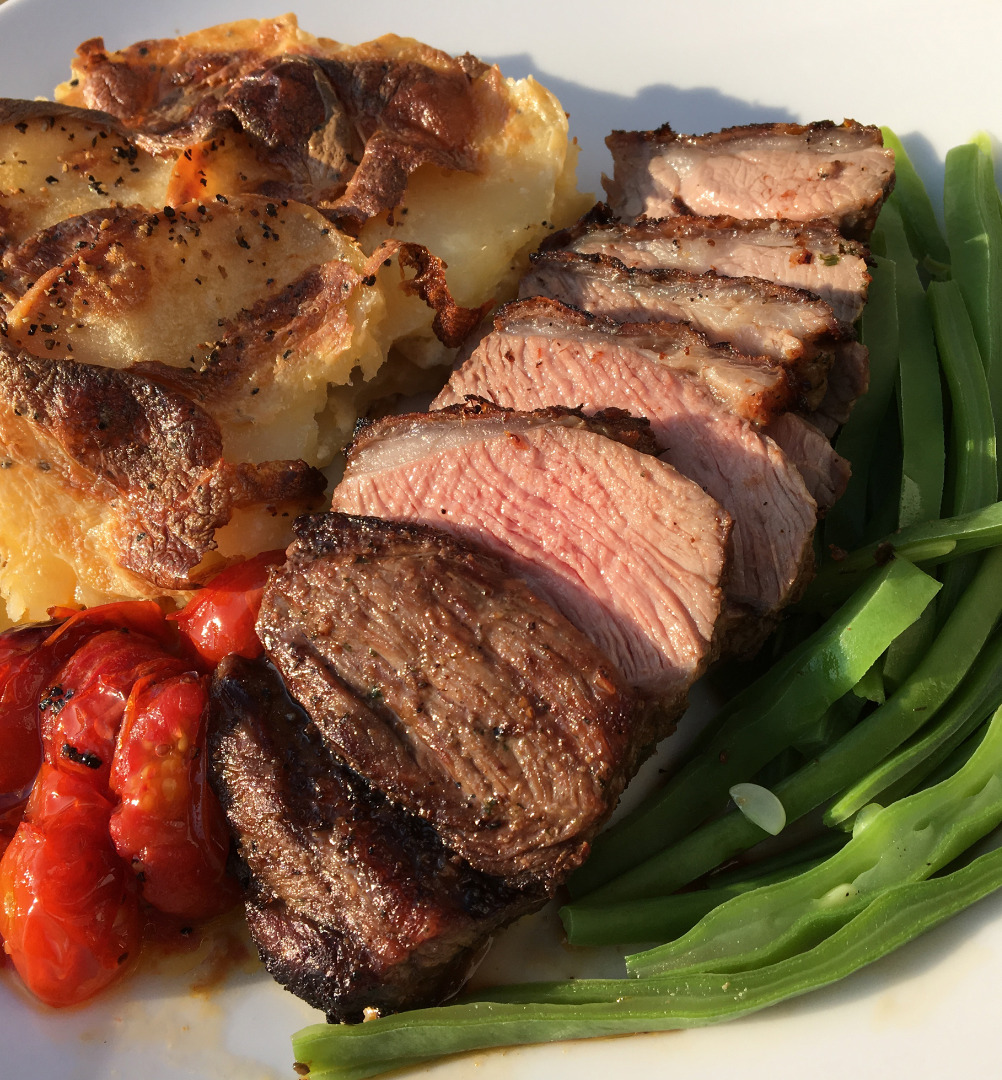Garlic & Rosemary Lamb Rump