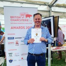 Lishman's Top Producer at British Charcuterie Live 2019