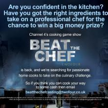 Are you up for a challenge? Can you Beat the Chef?