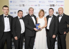 Derbyshire`s Owen Taylor & Sons Ltd is crowned winner of the Manufacturing Excellence Award and a Finalist in the Midlan