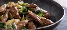 Teriyaki Lamb Stir-fry